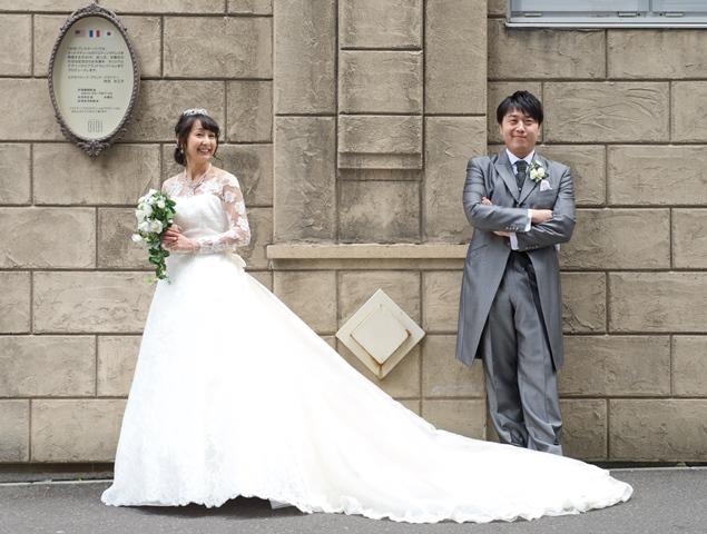 幸せの時間・ジルスチュアート・ウェディングドレス・前撮り・スタジオ写真