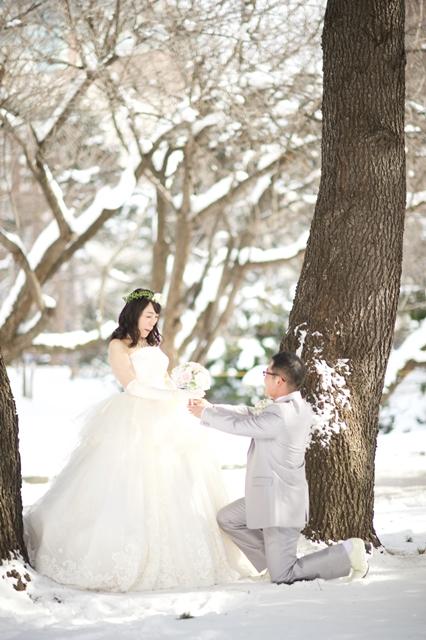 プロポーズ・雪・北海道・幸せな時間